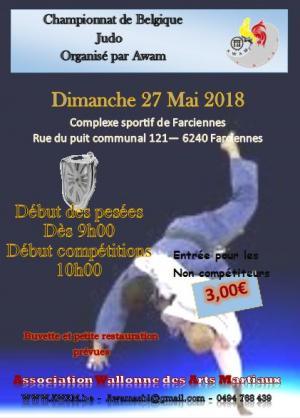 Champ belgique judo 2018